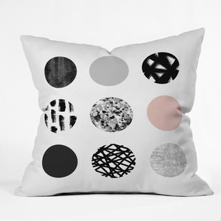 Deny Designs Mixed Dots Indoor/Outdoor Reversible Throw Pillow (4 Sizes)