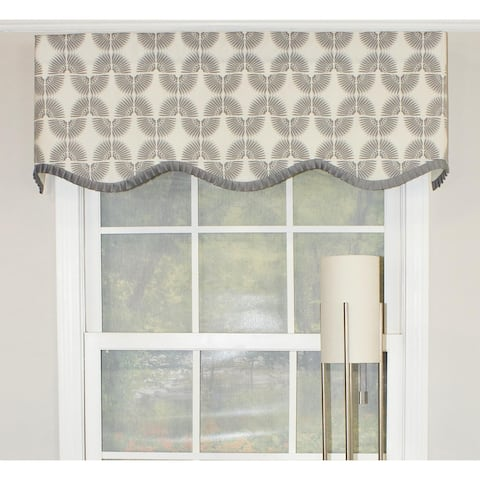 "RLF Home Caterpillar Provance 50"" Window Valance"