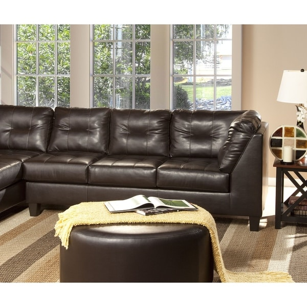 Shop Serta Right Facing Sofa 2500 Series By Hughes