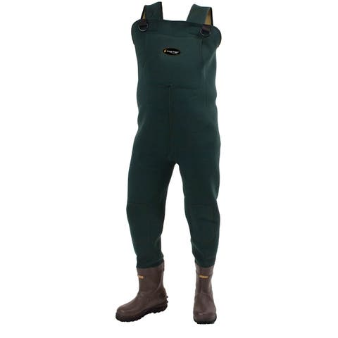 Frogg Toggs Amphib BTFT Neoprene Chest Wader Cleated Sz 10