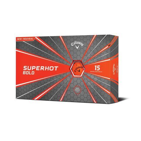 Callaway Superhot Golf Balls - 15 Balls