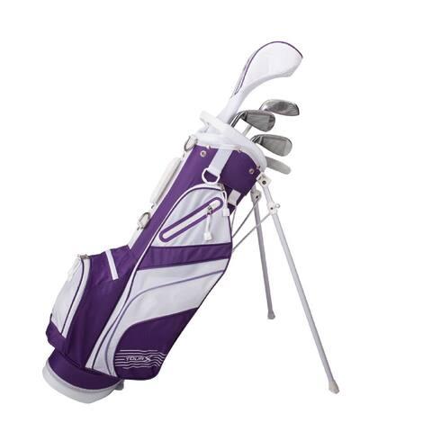 Tour X Size 3 Purple 5pc Jr Golf Set w/Stand Bag