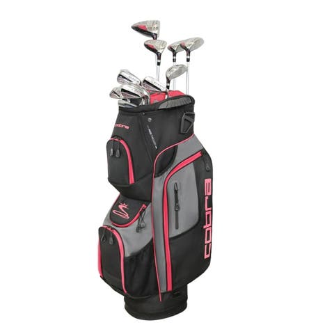 Cobra Golf XL Speed Womens Complete Set Petite Black-Pink RH