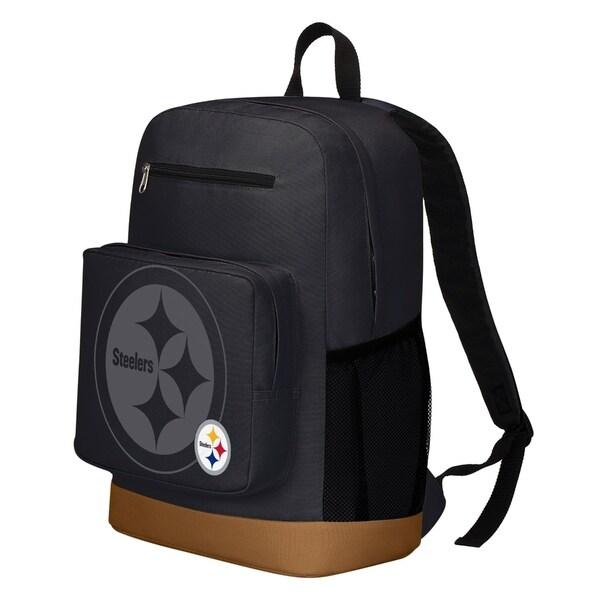 Pittsburgh Steelers Playmaker Backpack - Black