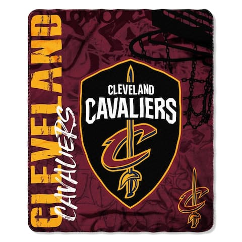 Cleveland Cavaliers Fade Away Fleece Throw