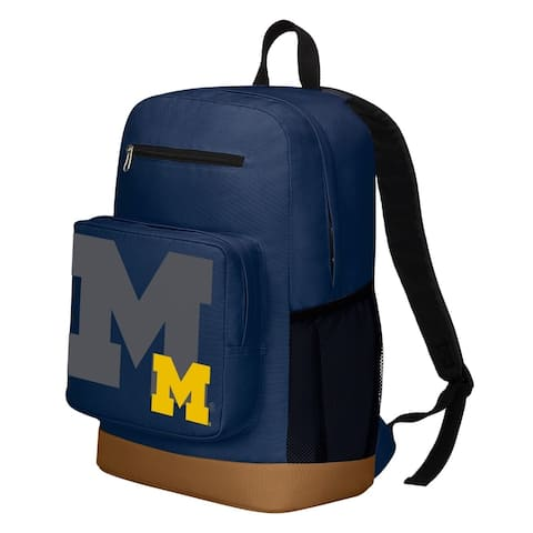 Michigan Wolverines Playmaker Backpack - Blue