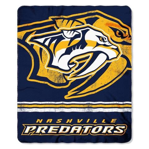 Nashville Predators Fade Away Fleece Throw