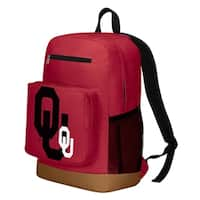 Oklahoma Sooners Playmaker Backpack - Red