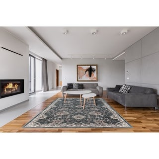 Astoria Georgiana Home Grey Rug