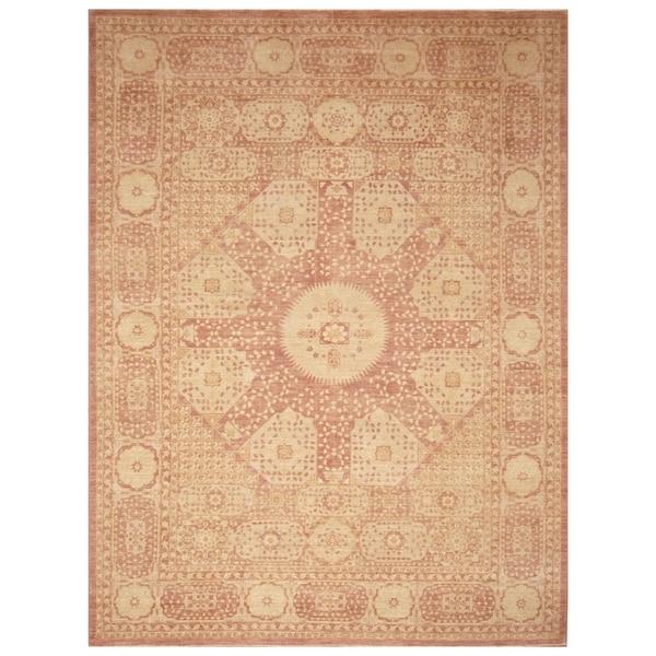 Handmade Vegetable Dye Mamluk Wool Rug (Afghanistan) - 8'8 x 11'8