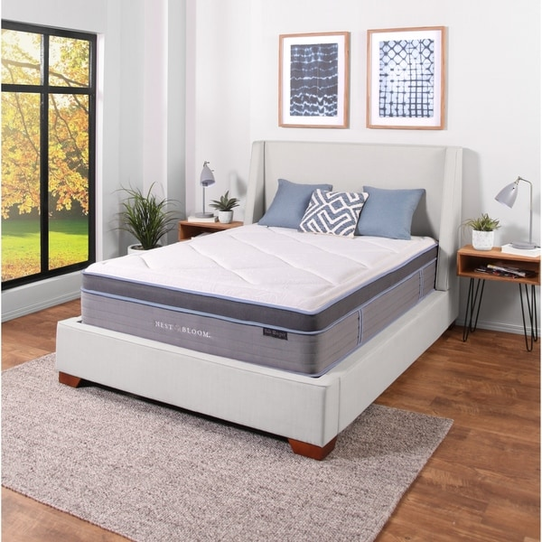 Shop Nest Amp Bloom 13 Quot Side Sleeper Hybrid Tufted Mattress On Sale Free Shipping Today