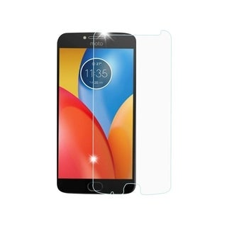 Insten Clear Tempered Glass Screen Protector LCD Film Guard Shield for Motorola Moto E4 Plus/Z2 Force/Z2 Play
