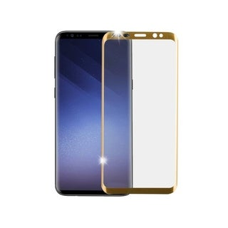 Link to Insten Full Coverage Tempered Glass Screen Protector LCD Film Guard Shield for Samsung Galaxy S9 Plus S9+, Gold Similar Items in Cell Phone Accessories
