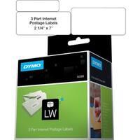 Dymo 3-part Return Address PC Postage Labels