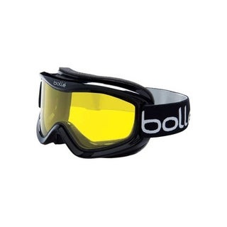 Bolle Mojo Ski Goggles Shiny Black Frame Lemon Lens
