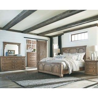 Carbon Loft Nightingale Rustic Smoke 5-piece Bedroom Set