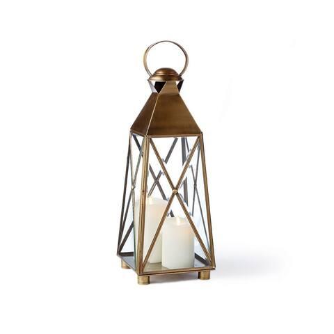 Imperial 25.5 inch Lantern Antique Brass