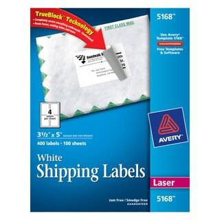 Avery Dennison 5168 Address Labels (Box of 400)