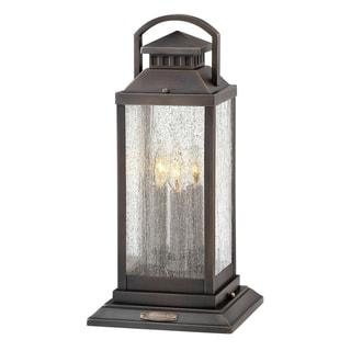 Link to Hinkley Revere 3-Light Outdoor Pier Mount in Blackened Brass Similar Items in Pier Mount Lights