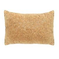 Stratton Home Decor Cork 14x20 Lumbar Throw Pillow