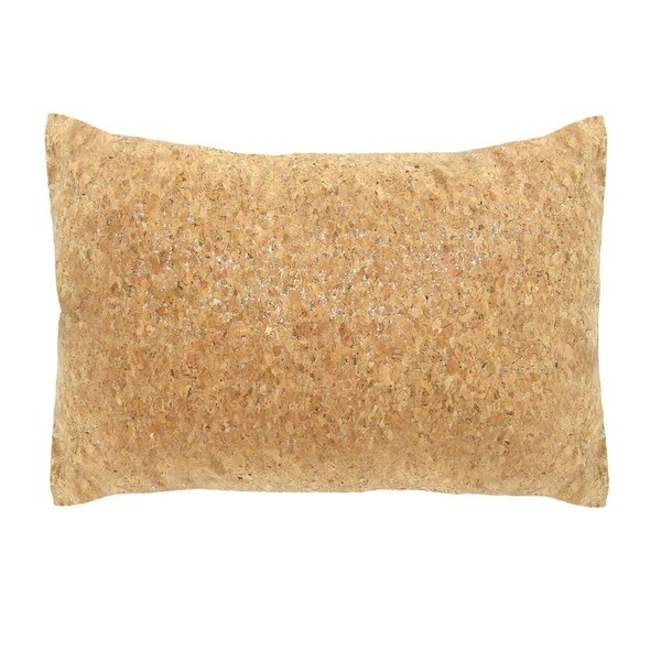 Stratton Home Decor Cork 14x20 Lumbar Throw Pillow