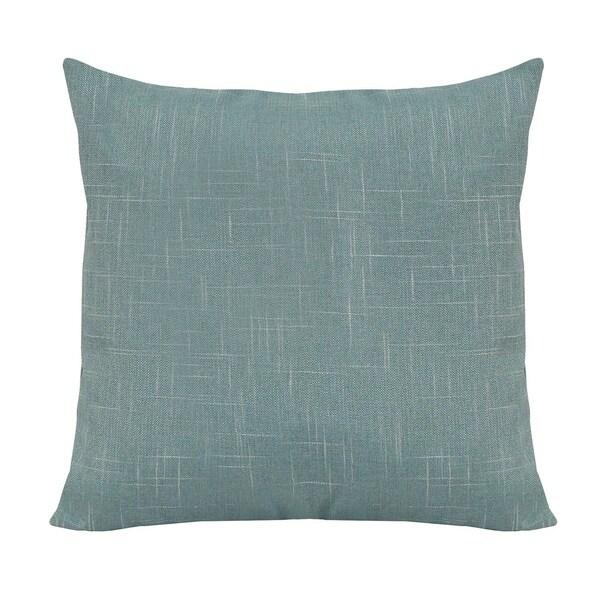 Stratton Home Decor Tweed 18 Inch Decorative Throw Pillow