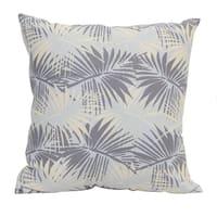 Stratton Home Decor Tropical Palm 18 Inch Decorative Throw Pillow