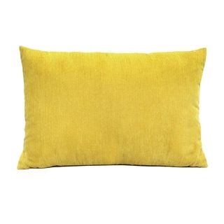 Carson Carrington Saiva Corduroy Lumbar Throw Pillow