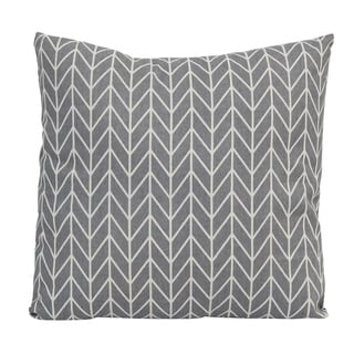 Stratton Home Decor Geo 18 Inch Throw Pillow