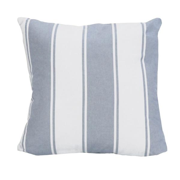 Stratton Home Decor Stripe 18 Inch Throw Pillow