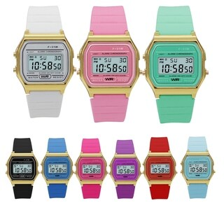 Sporty Silicon Digital Watch Style 4685 - N/A