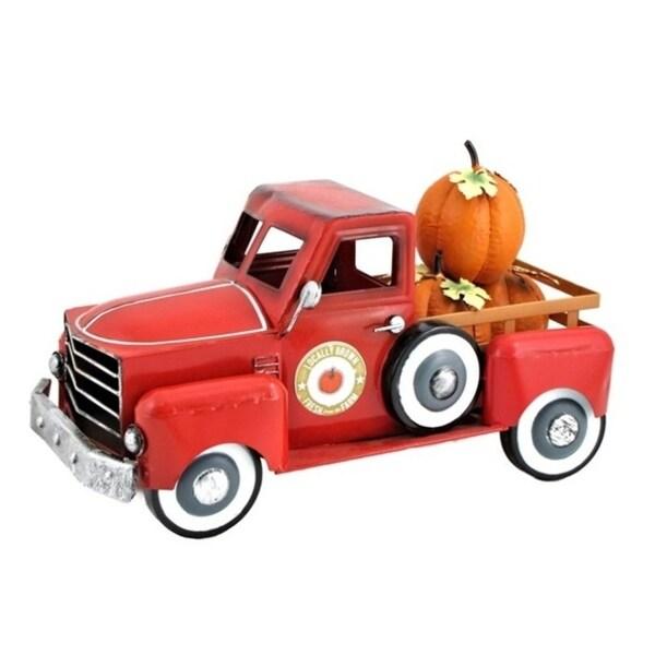 Small Pumpkin Truck in Red