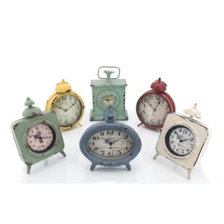 Set of 3 Small Table Clocks