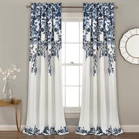 Lush Decor Tanisha Room Darkening Window Curtain Panel Pair