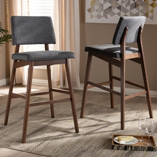 Link to Mid-Century Bar Stool 2-Piece Set Similar Items in Dining Room & Bar Furniture