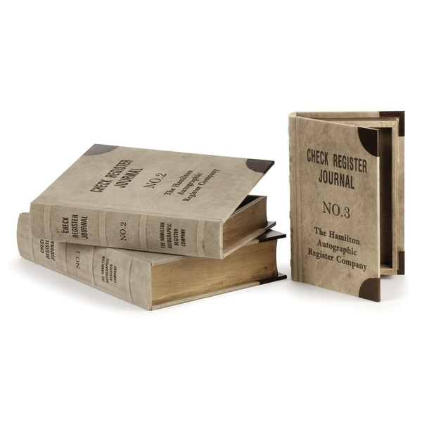 St. Germain Journal Boxes Set of 3