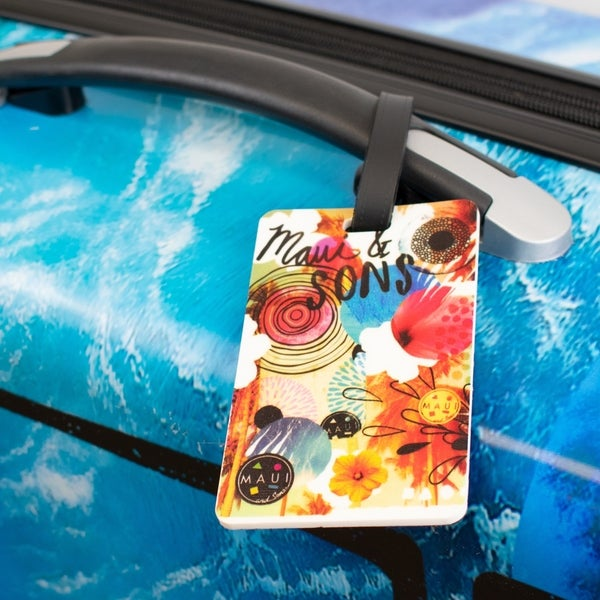Maui and Sons Surfer Collection Luggage Tags - Set of 2
