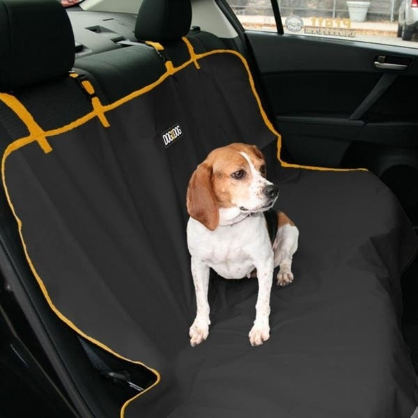 Sensational Shop Dog For Dog Pet Car Seat Cover Water Resistant Bench Caraccident5 Cool Chair Designs And Ideas Caraccident5Info