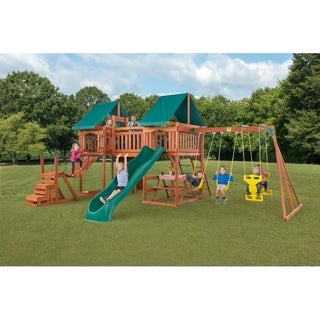Link to Jungle Fun Complete Wooden Playset Similar Items in Outdoor Play