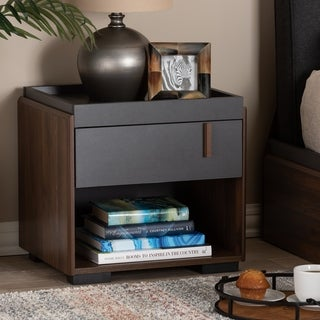 Contemporary 1-Drawer Nightstand