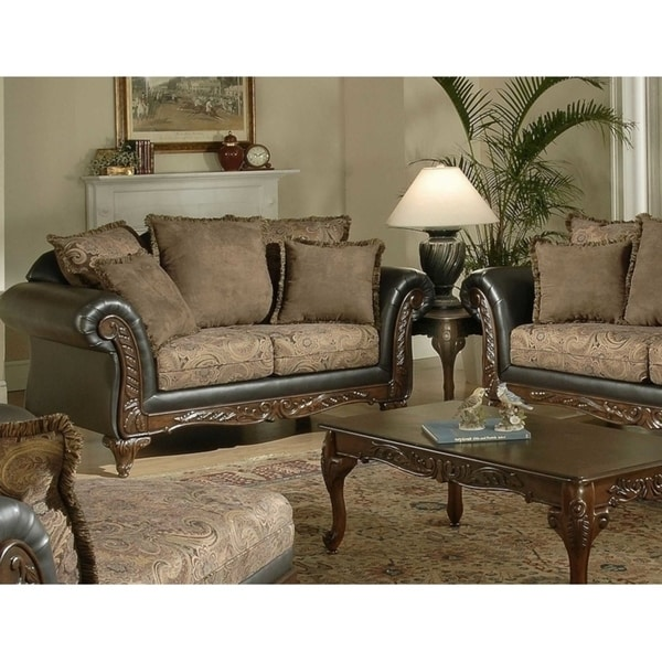 Serta Upholstery Traditional Loveseat