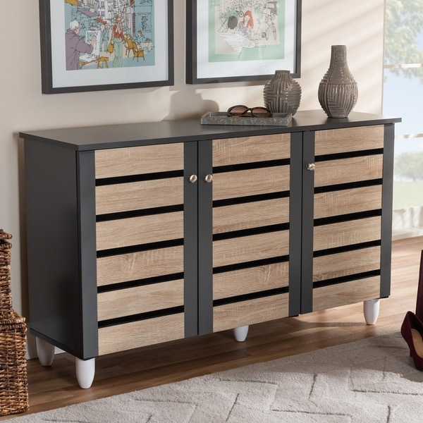 Contemporary Shoe Storage Cabinet. Opens flyout.