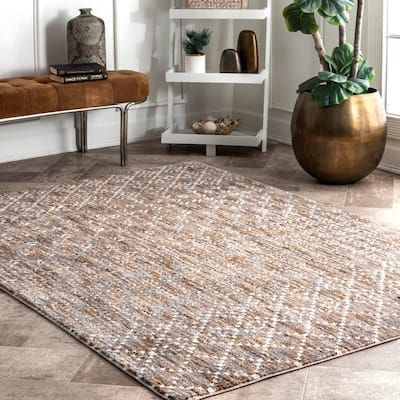 Brown 6 X 9 Moroccan Area Rugs
