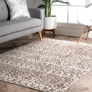 Carson Carrington Loviisa Transitional Geo Anumka Print Area Rug
