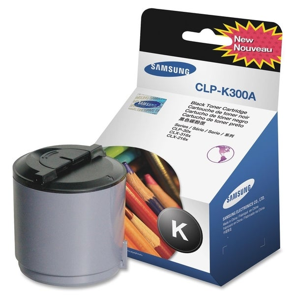 Samsung CLP-K300A Original Toner Cartridge