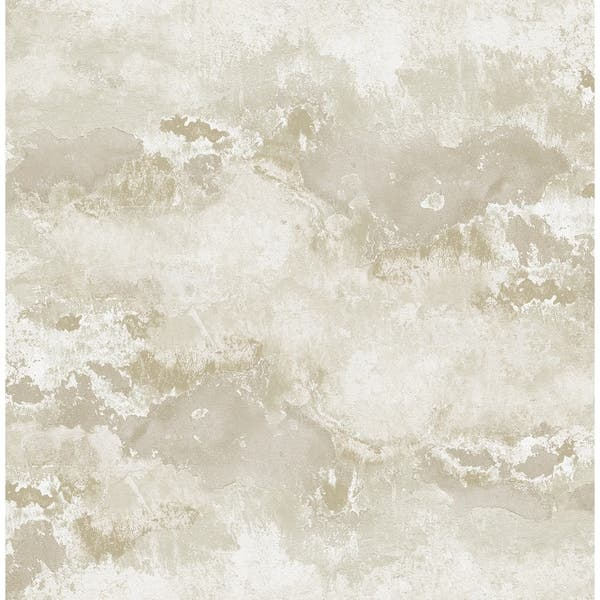 Shop Sicily Faux Marble Wallpaper In Taupe Off White On Sale