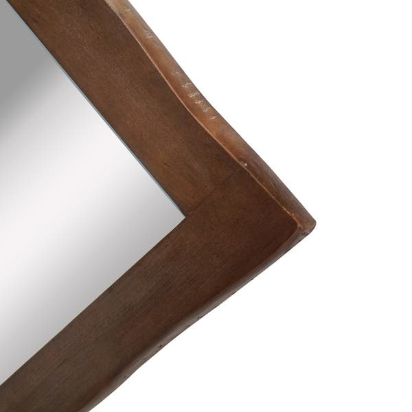 Yosemite Home Decor Sonora Large Mirror Antique Brown 1 37 X 40 W X 50 Overstock 26397141
