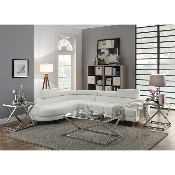 Ketan Sectional-White