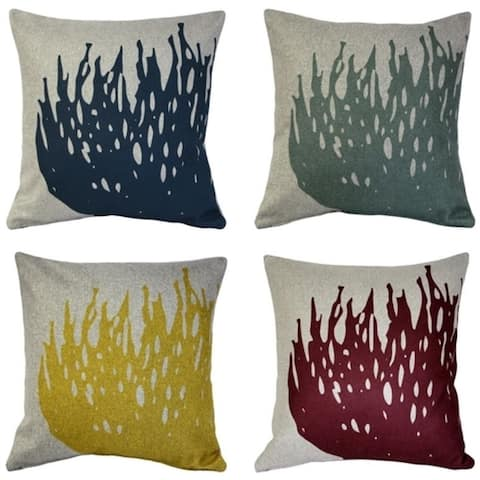 Pillow Decor - Kukamuka Scandinavian Hay Throw Pillow 19x19