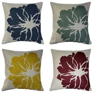 Pillow Decor - Kukamuka Scandinavian Lily Throw Pillow 19x19